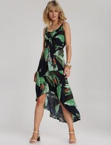 Granatowa sukienka Renee bez rękawów