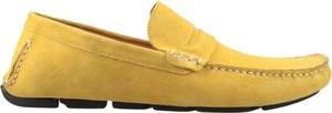 Żółte półbuty Conhpol Dynamic ze skóry