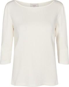 Bluzka Numph z okrągłym dekoltem z długim rękawem w stylu casual
