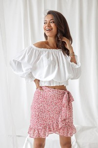 1a348ad3 spódnica różowa - stylowo i modnie z Allani