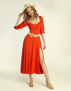 Czerwona sukienka Madnezz