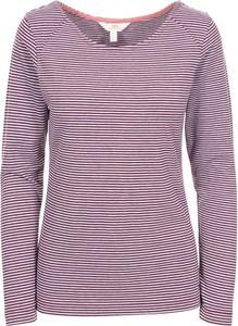 Fioletowy t-shirt Trespass z dzianiny w stylu casual z okrągłym dekoltem