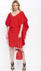 Sukienka Makadamia mini z dekoltem w kształcie litery v