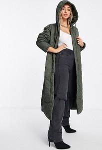 Zielony płaszcz Missguided