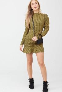 Sukienka V by Very mini z długim rękawem