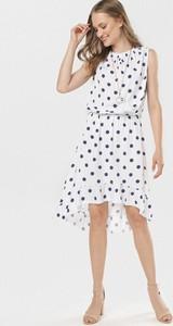 Sukienka born2be mini w stylu casual bez rękawów