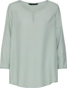 Miętowa bluzka Vero Moda z długim rękawem