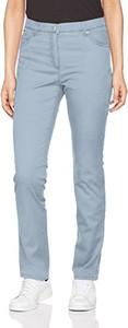 Niebieskie spodnie amazon.de z bawełny