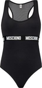 Czarny strój kąpielowy Moschino