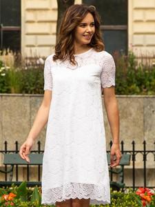 Sukienka Grandio z krótkim rękawem