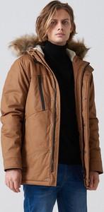 Płaszcz męski Cropp z bawełny w młodzieżowym stylu