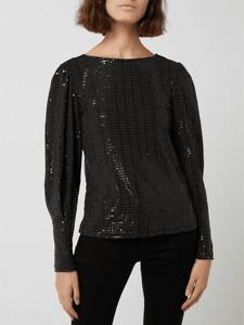 Czarna bluzka Selected Femme