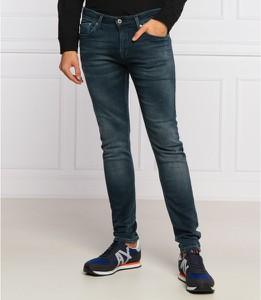 Jeansy Pepe Jeans w street stylu z jeansu