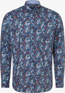 Niebieska koszula Olymp Casual Modern Fit z długim rękawem