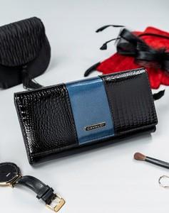 Granatowy portfel 4U Cavaldi