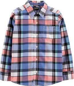 Koszula dziecięca OshKosh dla chłopców z bawełny