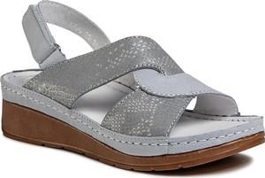 Sandały WALDI na koturnie