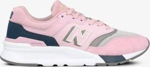 Buty sportowe New Balance sznurowane na platformie