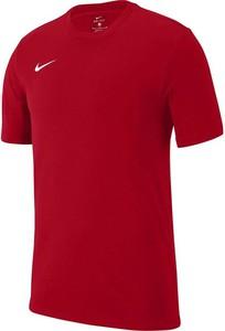 Koszulka dziecięca Nike Team dla chłopców z krótkim rękawem z bawełny