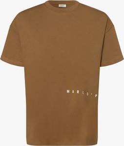 Brązowy t-shirt Marc O'Polo DENIM