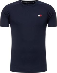 T-shirt Tommy Sport z krótkim rękawem w stylu casual