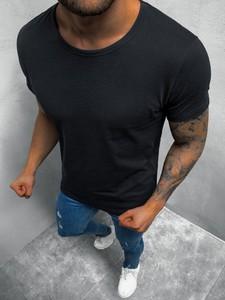 T-shirt ozonee.pl z krótkim rękawem w stylu casual z bawełny