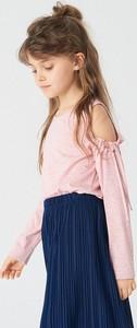 Bluzka dziecięca Reserved z długim rękawem