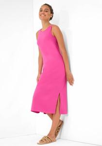 Sukienka ORSAY ołówkowa z okrągłym dekoltem midi
