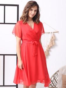 Sukienka Grandio z szyfonu
