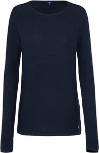 Czarny sweter tom tailor