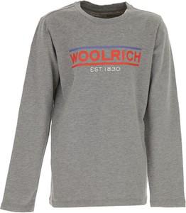 Koszulka dziecięca Woolrich z długim rękawem