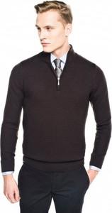 Brązowy sweter recman