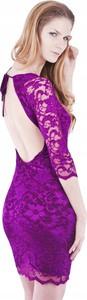 Fioletowa sukienka Inna