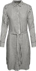 Sukienka Part Two koszulowa z długim rękawem w stylu casual