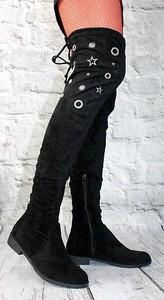 1c839d3a76327 długie kozaki za kolano - stylowo i modnie z Allani