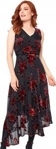 Sukienka JOE BROWNS z weluru z dekoltem w kształcie litery v