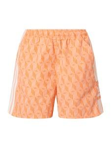 Pomarańczowe szorty Adidas Originals
