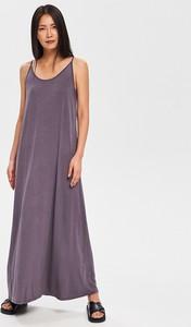 Niebieska sukienka Reserved w stylu casual maxi