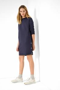 Granatowa sukienka ORSAY z bawełny