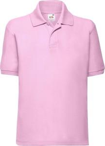 Różowa koszulka dziecięca Fruit Of The Loom