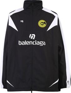 Czarna kurtka Balenciaga krótka