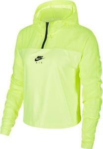Zielona kurtka Nike w sportowym stylu krótka