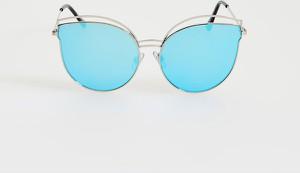 Turkusowe okulary damskie Mohito