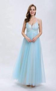 Niebieska sukienka Butik Ecru