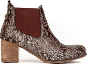 Botki Zapato w stylu casual na obcasie