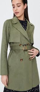 Zielony płaszcz Sinsay w stylu casual