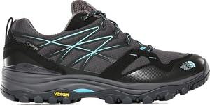 Buty sportowe The North Face sznurowane z goretexu z płaską podeszwą