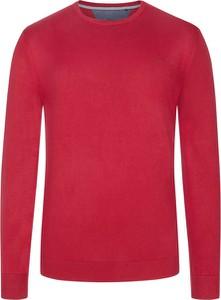 Czerwony sweter S.Oliver z dzianiny