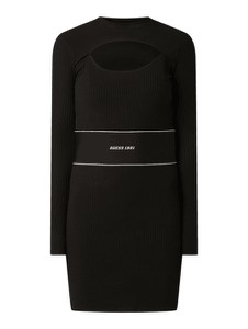 Czarna sukienka Guess w stylu casual mini