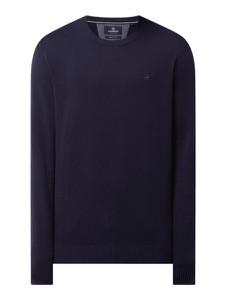 Granatowy sweter Lerros